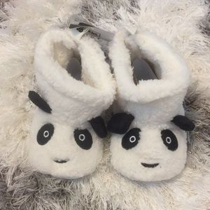 Other - Romrius Panda 🐼 Fur Boots Size 12-18 Months